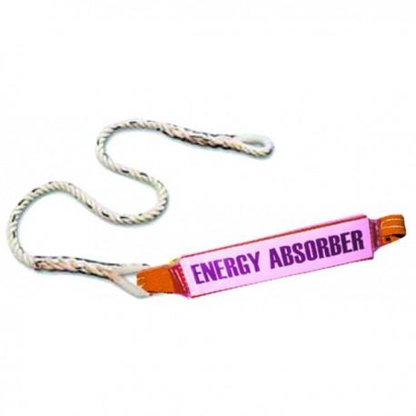 Absorbeur d'énergie avec corde