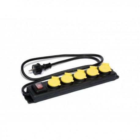 Socle IP44 interrupteur protégé Brennenstuhl