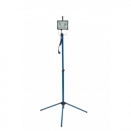 Projecteur halogène pied télescopique
