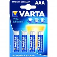 Piles rondes LR03 AAA Varta
