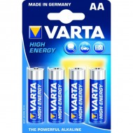 Piles rondes LR06 AA Varta