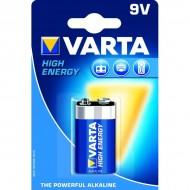 Pile carrée 6LR61 Varta