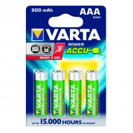 Piles rondes rechargeables HR03 AAA Varta