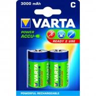 Piles rondes rechargeables HR14 C Varta