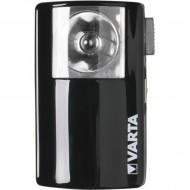 Lampe de poche plate métal Varta