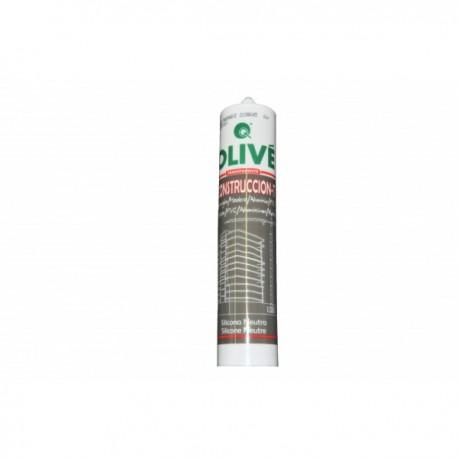 Cartouche silicone transparent Olive