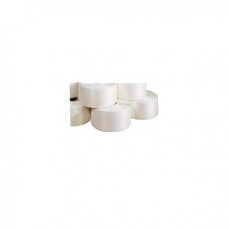 Feuillard textile blanc