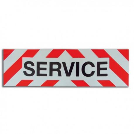 "Plaque autocollante ""Service"""