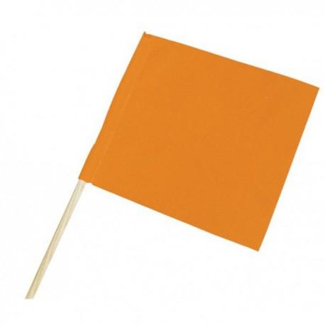 Fanion de signalisation coloris orange