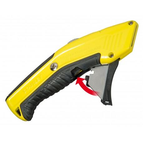 Couteau à lame rétractable à rechargement automatique Stanley