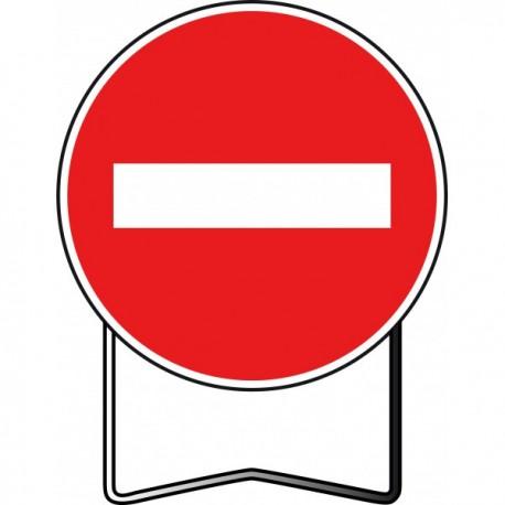Panneau BK1 Sens interdit