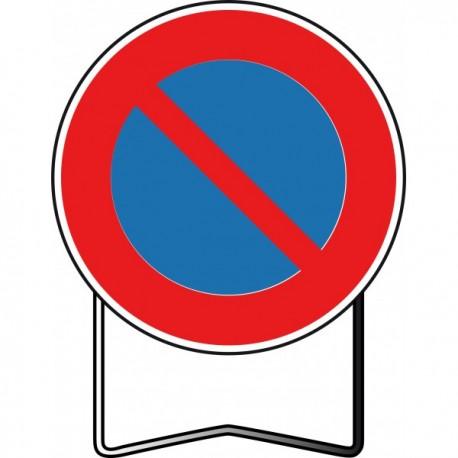 Panneau BK6a1 Interdiction de stationner