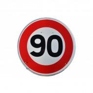 Panneau BK14 90 Km/h