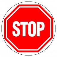 "Plaque ""Stop"""