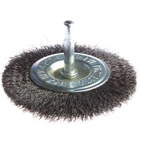 Brosse circulaire à fils ondulés pour perceuses Makita