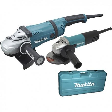 Coffret 2 meuleuses 125mm / 230mm Makita