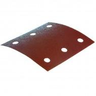 Lot 10 bandes abrasives retangulaires, auto-aggripantes Makita