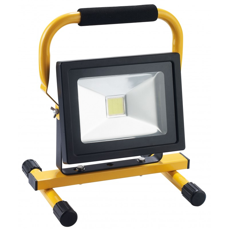 projecteur led rechargeable 20w ip 44 reservoir tp. Black Bedroom Furniture Sets. Home Design Ideas