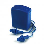 Bouchons anti-bruit elastomère avec corde, la paire