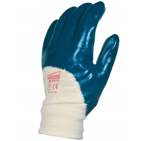 Gants enduits nitrile double enduction