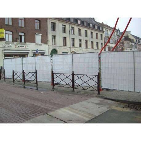 Bâche spéciale clôture
