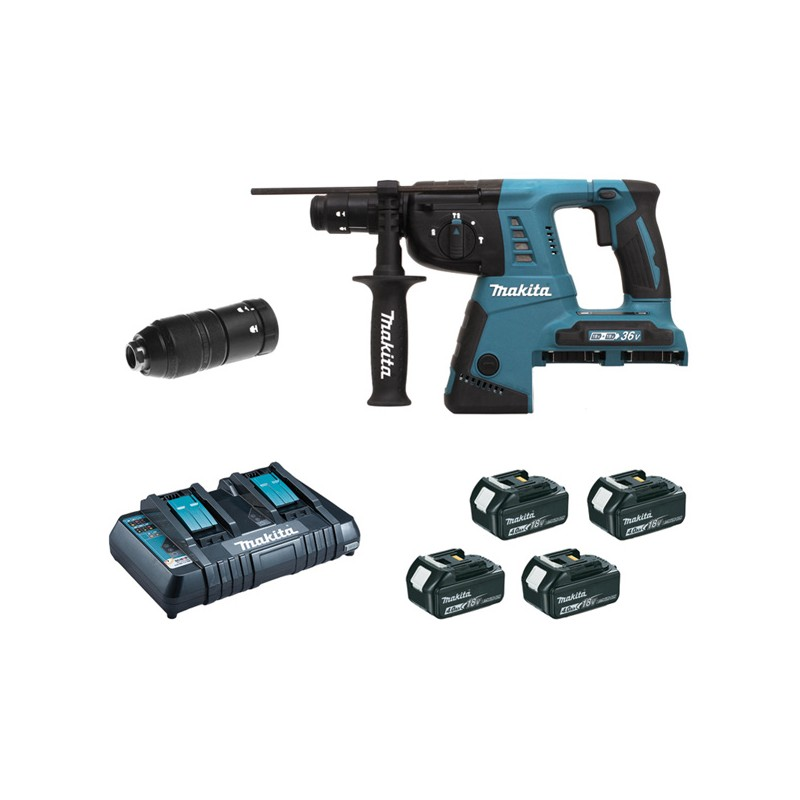 Perforateur Burineur Sans Fil : perforateur burineur sans fil makita 36v reservoir tp ~ Premium-room.com Idées de Décoration
