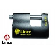 Cadenas monobloc haute sécurité rectangulaire Lince, largeur 90mm