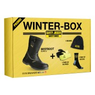 Winter-Box avec bottes Bestboot, bonnet, chaussettes et gants fourrés