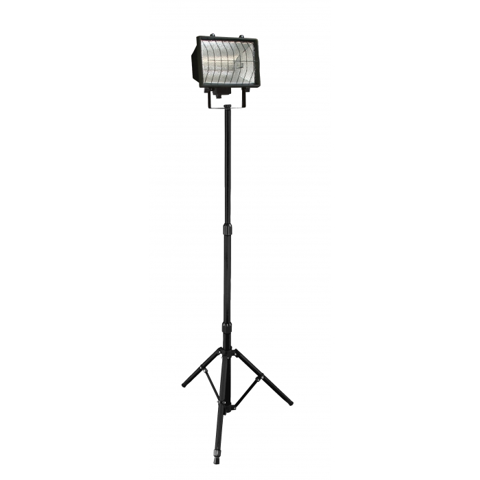 Projecteur halogène 1000W sur trépied télescopique
