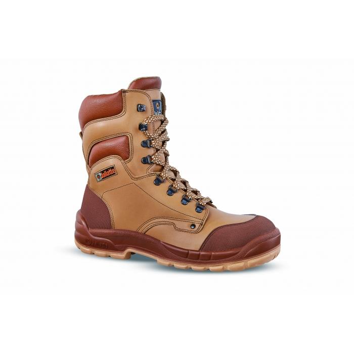 Chaussures de sécurité très haute JALBORD S3 en cuir pleine fleur