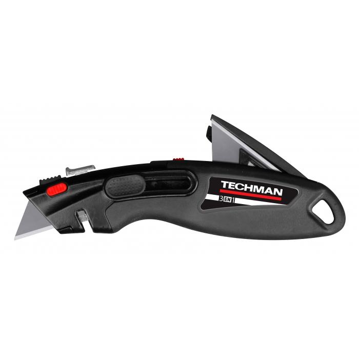 Couteau 3 en 1 à réservoir Techman