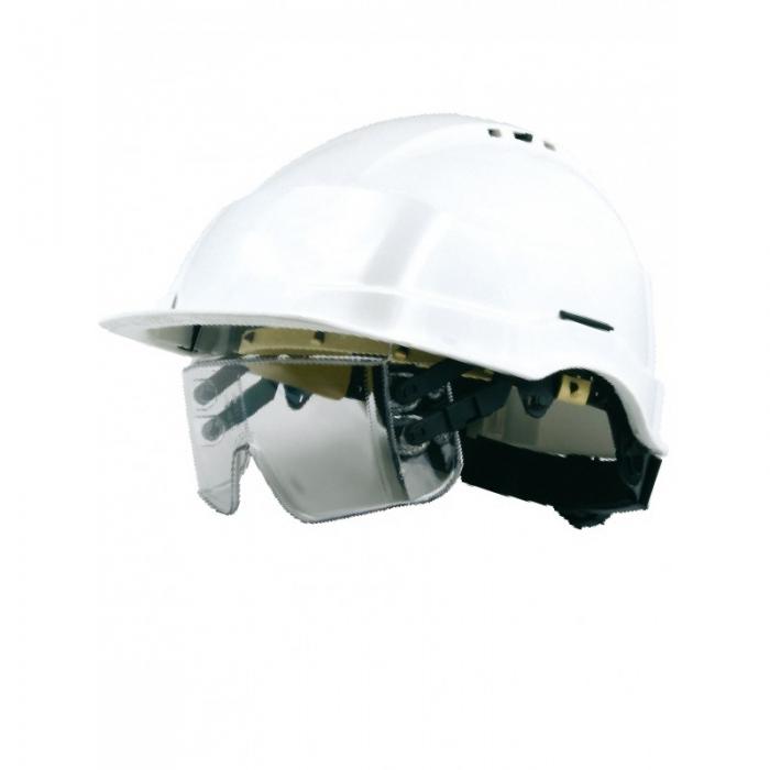 Casque de chantier IRIS2 à lunette-masque intégrée