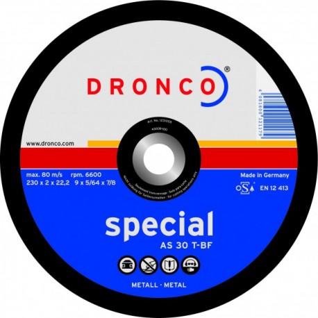 Disque à tronçonner Acier Pro Dronco