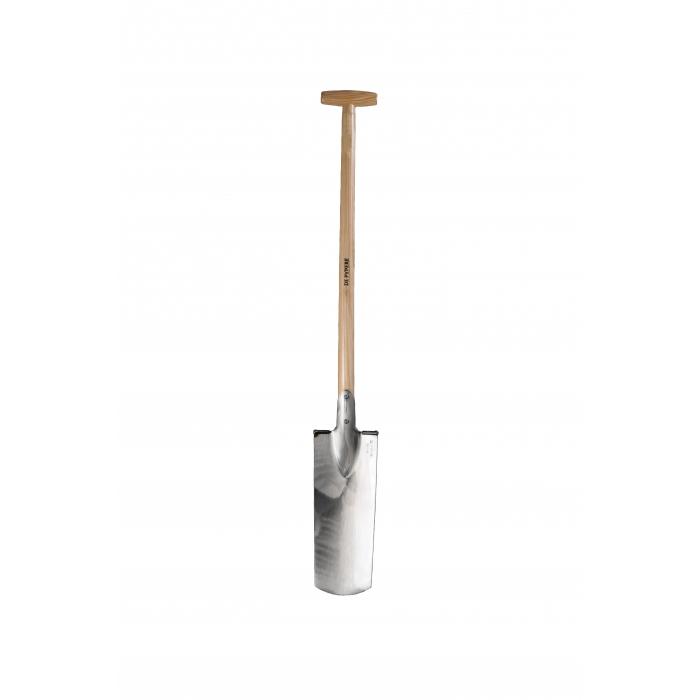 Louchet terrassier 40cm De Pypere avec manche bois béquille