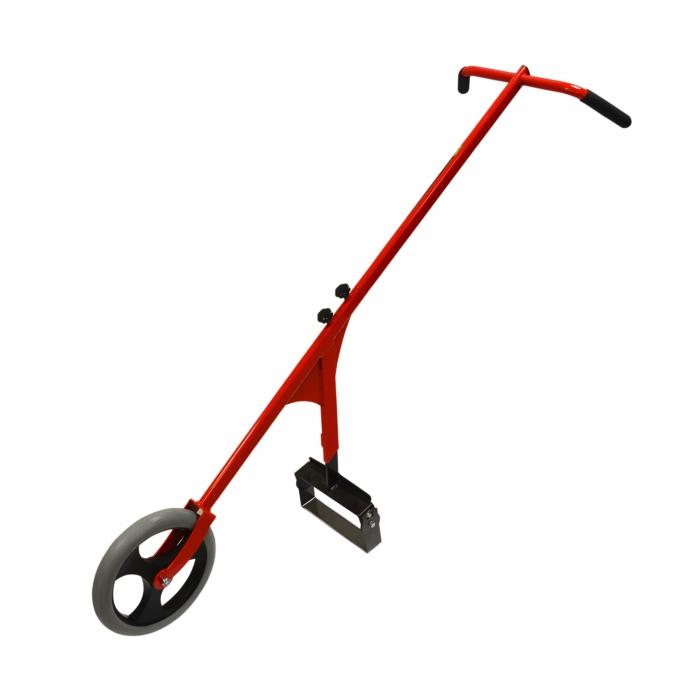 Grattoir à roue + sarcloir 25cm De Pypere