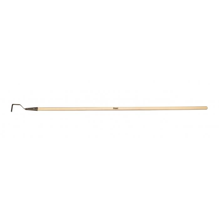 Desherbeur crochet De Pypere avec manche bois 1,50m
