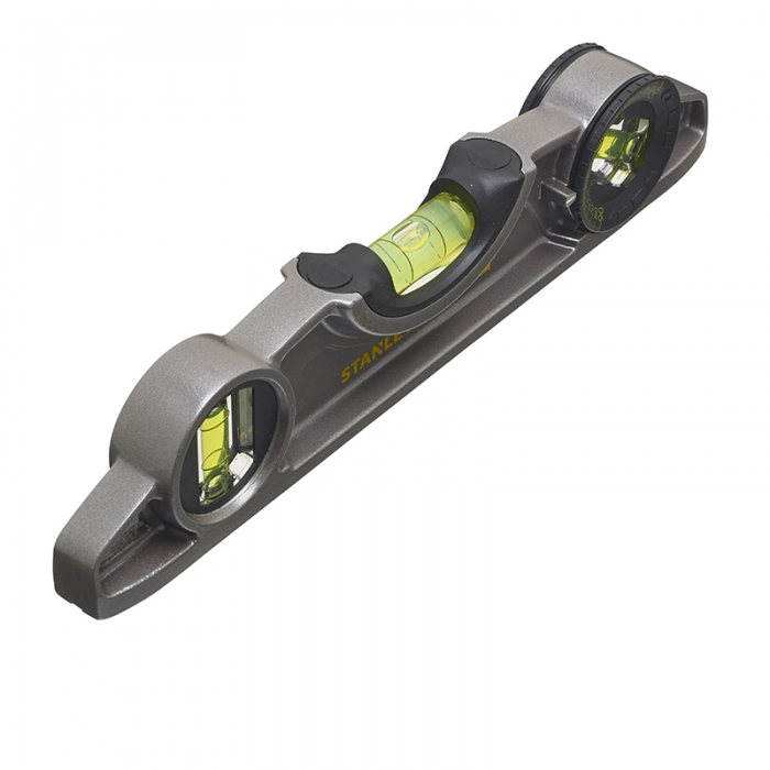 Niveau torpedo aluminium magnétique Fatmax 25cm 2 fioles