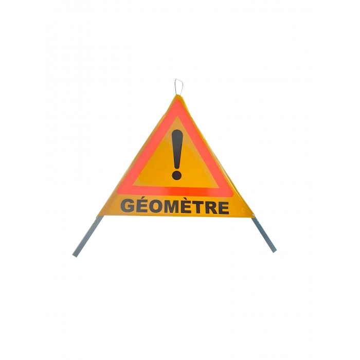 Tripode de signalisation Géomètre 700mm
