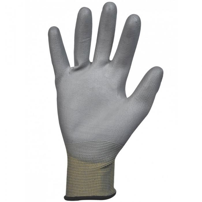 Gant polyuréthane, support polyester sans couture