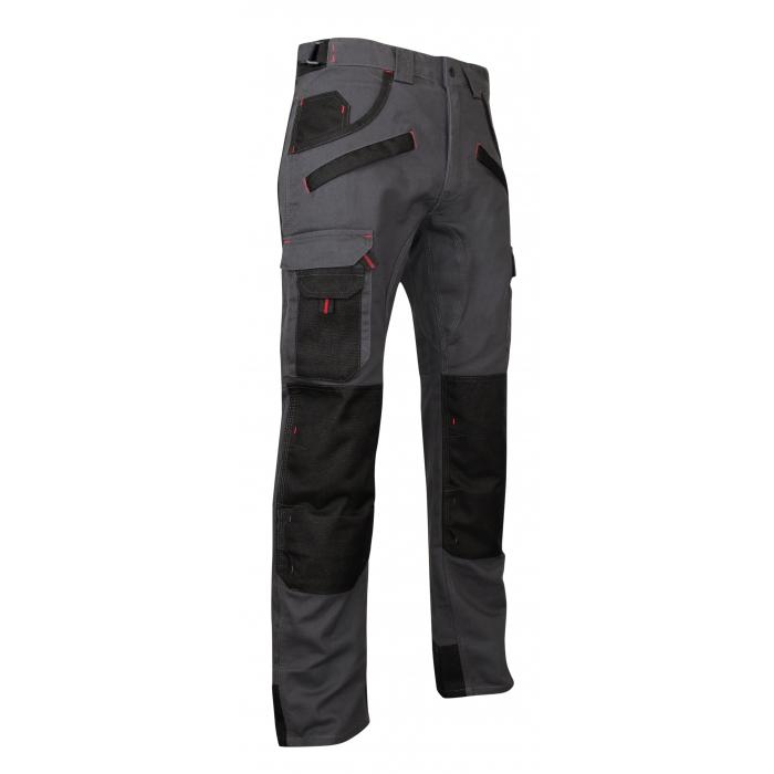 Pantalon bicolore avec poches genouillères