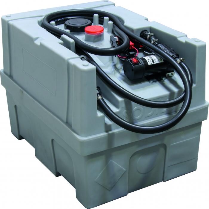 Cuve de ravitaillement 200L fuel 12V 40L/min