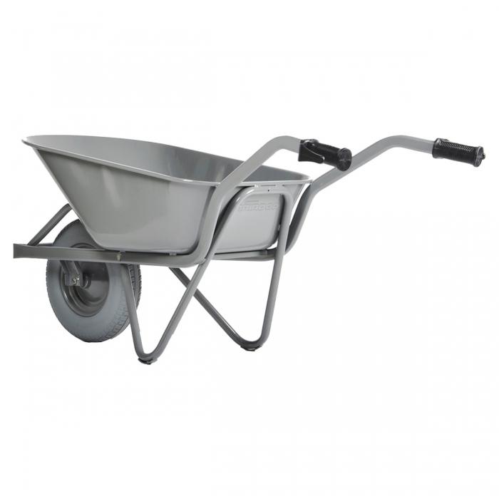 Brouette Easy Rider 80L caisse arrondie avec roue increvable