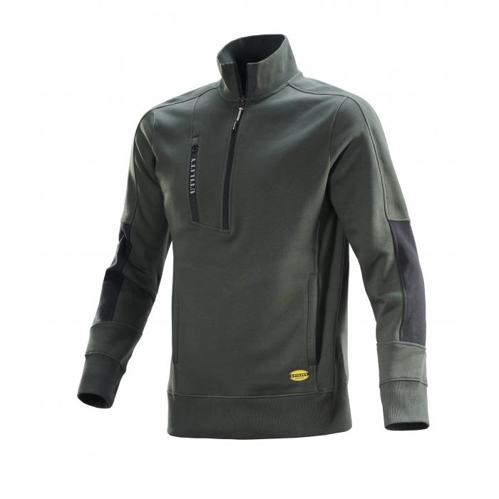 Sweat-shirt FZ Litework Vert Thym Diadora Utility