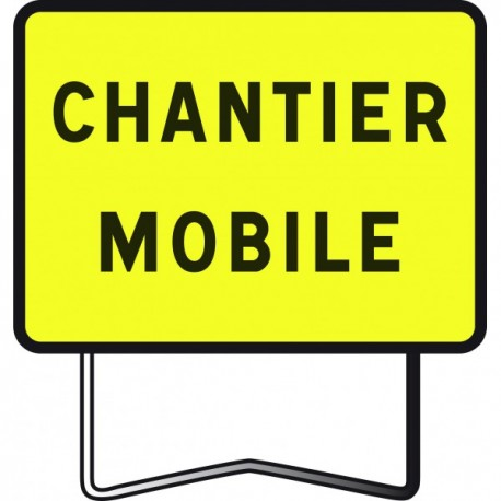 "Panneau KC1 ""Chantier mobile"""
