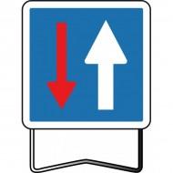 Panneau C18 Sens prioritaire