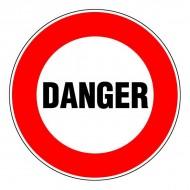 """Plaque """"Danger"""""""
