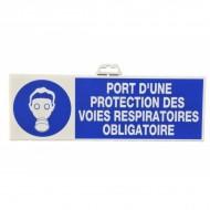 "Plaque signalétique ""Port de masque"""