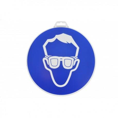 """Plaque signalétique """"Port de lunettes"""""""