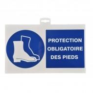 """Plaque signalétique """"Port de chaussures"""""""