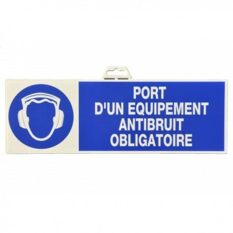 "Plaque signalétique ""Port de casque AB"""